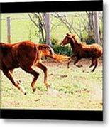 Galloping Horses Metal Print by Arie Arik Chen