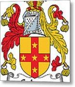 Galwey Coat Of Arms Irish Metal Print