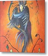 Gamaun The Prophetic Bird Metal Print