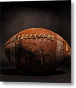 Game Ball Metal Print by Peter Tellone