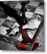 Game - Chess - Check Mate Metal Print by Mike Savad