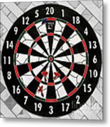 Game Of Darts Anyone? Metal Print by Kaye Menner