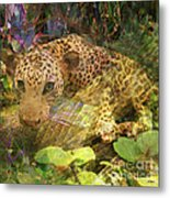Game Spotting - Square Version Metal Print