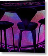 Game Table Metal Print
