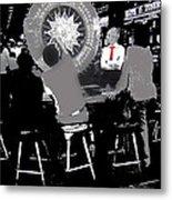 Gaming Tables Interior Binion's Horseshoe Casino Las Vegas Nevada 1979-2014 Metal Print