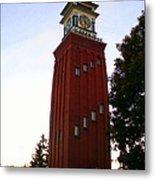 Gananoque Clock Tower Metal Print