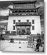 Gandantegchenling Monastery Metal Print