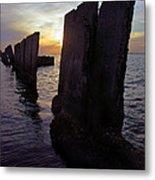 Gandy Wall At Sunset IIi Metal Print