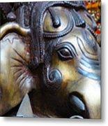 Ganesh Bodhi Metal Print