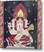 Ganesha The Hindu God Metal Print