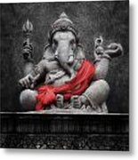 Ganesha V.1 Metal Print