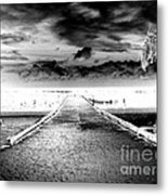 Gangplank Of Perfection Infrared Extreme Metal Print