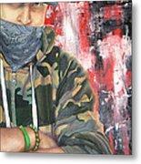 Gangster Emotions Metal Print