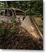 Gangsters Last Ride Metal Print
