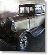 Gansgter Era Automobile Metal Print