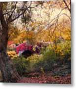 Gapstow Secluded Metal Print