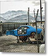 Garage Days Palm Springs Metal Print