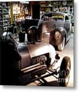 Garage Tour Metal Print