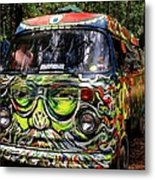 Garcia Vw Bus Metal Print