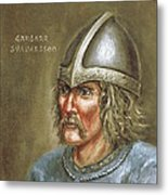 Gardar Svavarsson Metal Print