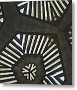 Garden Arbor Ipadography Kaleidoscope Phone Case Metal Print