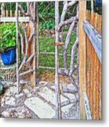 Garden At Cheryl's Metal Print