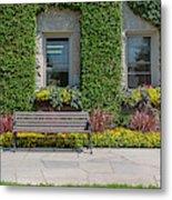 Garden At Niagara Parks School Metal Print