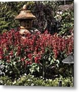 Garden Color At Woodward Park 22f Metal Print