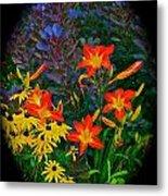Garden Color Delight Metal Print