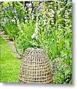 Garden Decoration Metal Print