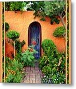Garden Delights Mesilla Metal Print