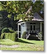 Garden Dome House In City Park Boschveld Arnhem Netherlands Metal Print