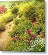 Garden Wish Metal Print by Dawn Vagts