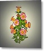 Garden Flowers 6 Metal Print