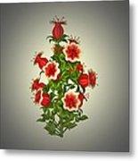 Garden Flowers 8 Metal Print