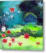 Garden Magic Metal Print