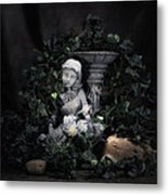 Garden Maiden Metal Print