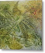 Garden Mist Metal Print by Patsy Sharpe
