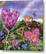 Garden Of Love 2 Metal Print by Alixandra Mullins