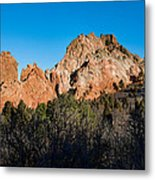 Garden Of The Gods Formation Metal Print