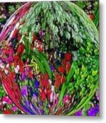 Garden Orb Metal Print