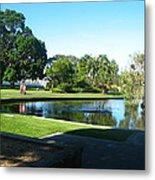Sydney Botanical Garden Lake Metal Print