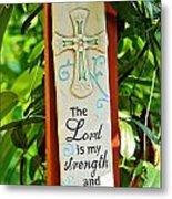 Garden Prayer Metal Print