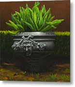 Garden Satyr Metal Print