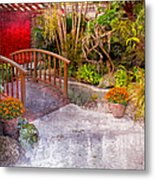 Garden View Series 25 Metal Print
