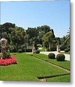 Garden Villa Ephrussi Metal Print