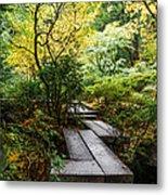 Garden Walkway Metal Print