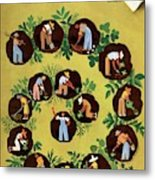 Gardeners And Farmers Metal Print