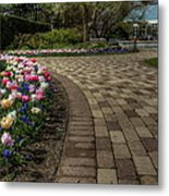 Gardens In The Park Metal Print