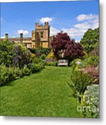 Gardens Of Sudeley Castle In The Cotswolds Metal Print